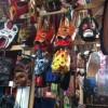 グアテマラの木彫りマスク!
