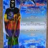 サンタムエルテのポスターとロレンソ兄弟の板絵
