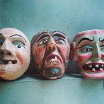 メキシコのウッドマスク 木製の仮面について