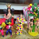 メテペックのソテノ・ファミリーが作る彩色陶芸