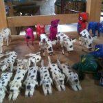 サンチアゴ一族の木彫り人形 ウッドカービング