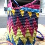 グアテマラの編みこみバッグが入荷!
