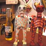 グアテマラ 木彫りの民芸品の新入荷です