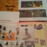 荒木珠奈さんのチアパスまつりのカタログ&レニャテーロス工房のパンフレット