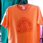 MUSICAMINO! Tシャツ 販売開始!