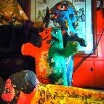 張り子人形「フダス」の新入荷とセマナサンタ