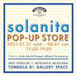 Solanita Tシャツ&アクセサリー PopUpイベント